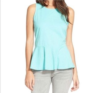 Hinge Peplum Top